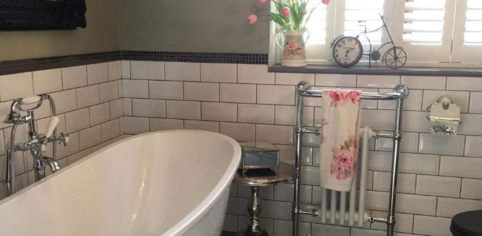 Emma's Eclectic Customer Bathroom - Lancashire