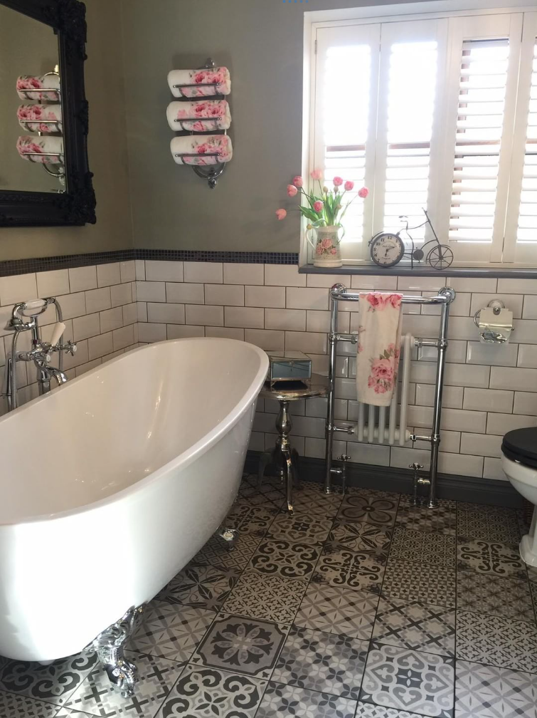 Emma S Eclectic Bathroom Customer Bathrooms Victorian
