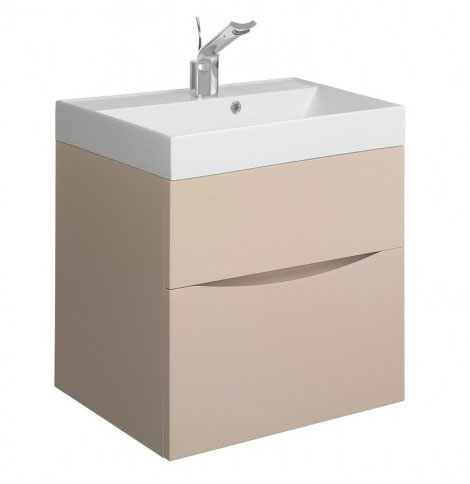 Crosswater - Glide II Vanity Unit and Basin - Calico - 3 size options