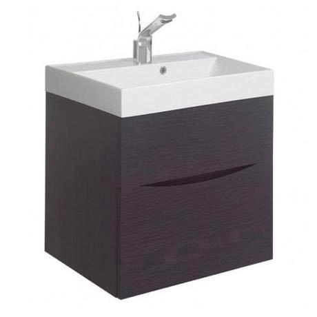 Bauhaus - Glide II Vanity Unit and Basin - Wenge - 3 size options