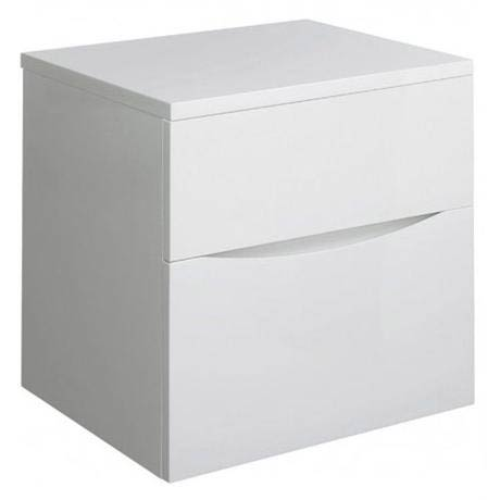 Bauhaus - Glide II Unit and Worktop - White Gloss - 3 size options