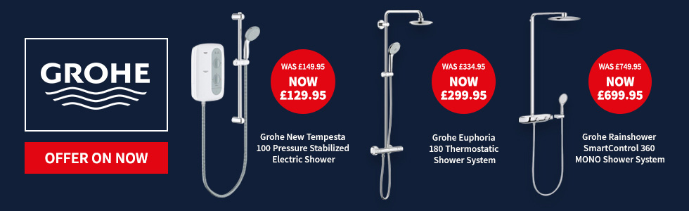 grohe showers promotion