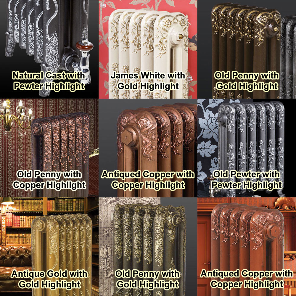 Paladin Piccadilly Cast Iron Radiator (460mm High) Standard Large Image