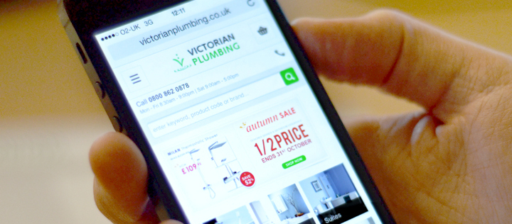 Victorian Plumbing mobile site launch