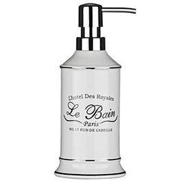 'Le Bain' White Ceramic Lotion Dispenser - 1601335