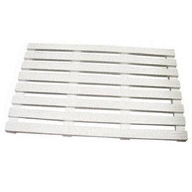 Lloyd Pascal - Wooden Duckboard - 560 x 360mm - White - 074.96.110