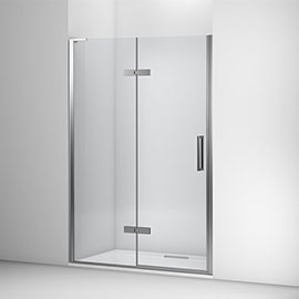 Mira Ascend Alcove Hinged Shower Door