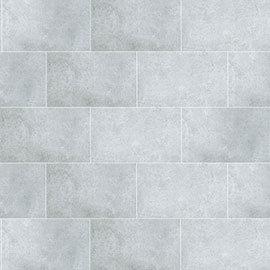 Mere Reef Light Grey Stone Interlock 3 Tile Effect Wall Panels (Pack of 8)