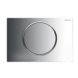 Geberit Sigma 10 Gloss Chrome Flush Plate for UP320/UP720 Cistern - 115.758.KH.5