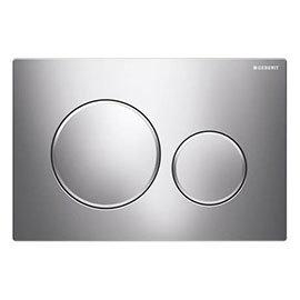 Geberit Sigma 20 Gloss Chrome Flush Plate for UP320/UP720 Cistern - 115.882.KH.1