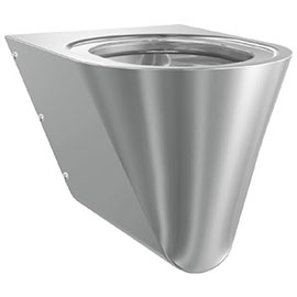 Franke Campus CMPX592 Stainless Steel Wall Hung WC Pan without Toilet Seat
