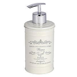 Wenko Home Vintage Steel Soap Dispenser - 22516100