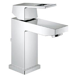 Grohe Eurocube Mono Basin Mixer with Pop-up Waste - 23127000