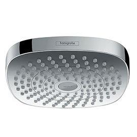 hansgrohe Croma Select E 180 2 Spray Shower Head - Chrome - 26524000