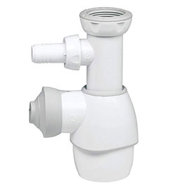 Wirquin All-In-One Sink Trap with Washing Machine Connection