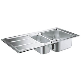 Grohe K400 1.5 Bowl Stainless Steel Kitchen Sink - 31567SD0