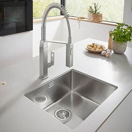 Grohe K700 1.0 Bowl Undermount Stainless Steel Kitchen Sink - 31574SD0