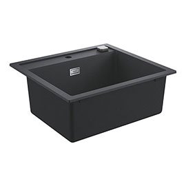 Grohe K700 1.0 Bowl Composite Quartz Kitchen Sink - Black - 31651AP0