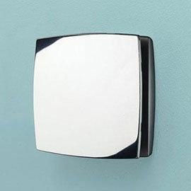 HIB Breeze Wall Mounted Bathroom Fan with Timer - Chrome - 32800
