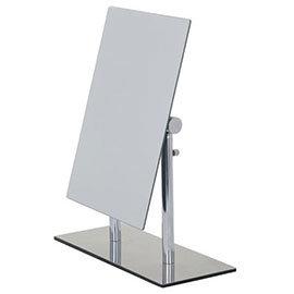 Wenko Pinerolo Standing Cosmetic Mirror - Chrome - 3656420100