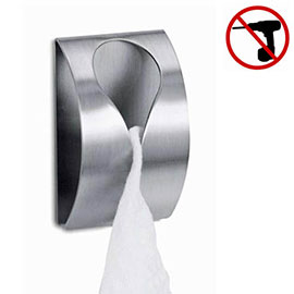 Zack Genio Towel Clip - Stainless Steel - 40121