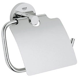 Grohe Essentials Toilet Roll Holder with Cover - 40367001