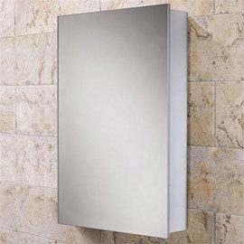 HIB Callisto Aluminium Mirror Cabinet - 44100
