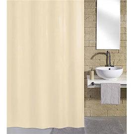 Kleine Wolke Kito Polyester Shower Curtain - W2400 x H1800 - Nature - 4937-202-352
