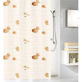 Kleine Wolke - Miami Polyester Shower Curtain - W1800 x H2000 - Beige
