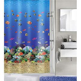 Kleine Wolke - Maldives PEVA Shower Curtain - W1800 x H2000 - 5202-148-305