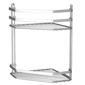 Satina Bathroom Storage Basket - Double Corner - 57590