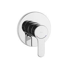 "Roca L20 Chrome 1/2"" Built-in Bath or Shower Mixer - A5A2A09COO"