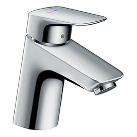 hansgrohe Logis Single Lever Basin Mixer 70 CoolStart with Pop-up Waste - 71072000