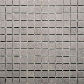 RAK - Lounge Grey Porcelain Mosaic Polished Tile Sheet - 300x300mm - 7GPD59-MOS