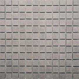 RAK - Lounge Grey Porcelain Mosaic Unpolished Tile Sheet - 300x300mm - AM-9GPD-59UP