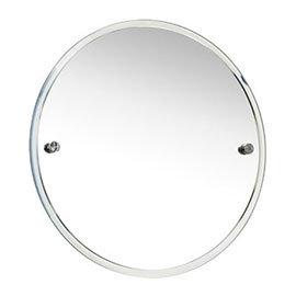 Miller - Bond 450mm Round Bevelled Wall Mirror - 8700C