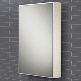 HIB Tulsa Gloss White Mirror Cabinet - 9101600