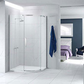 Merlyn Ionic Essence 1200 x 900mm 1 Door Offset Quadrant Enclosure