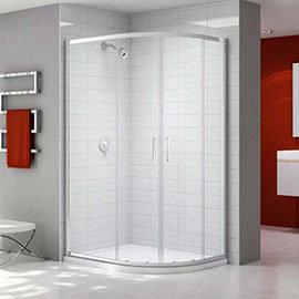 Merlyn Ionic Express 1200 x 900mm 2 Door Offset Quadrant Enclosure