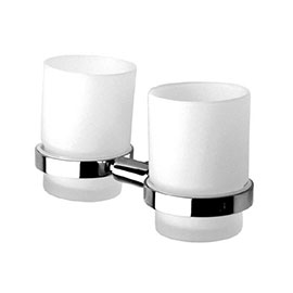 Inda - Storm Double Holder with Two Tumblers - A0710D
