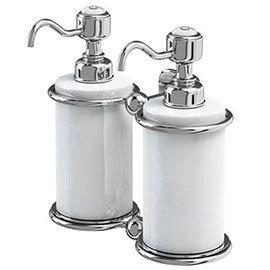 Burlington - Double Soap Dispenser - A20CHR