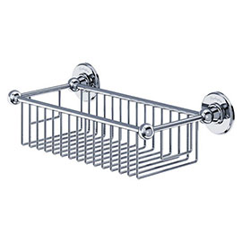 Burlington - Chrome Deep Rectangular Basket - A23CHR