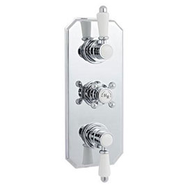 Hudson Reed Traditional Triple Concealed Thermostatic Shower Valve - A3035