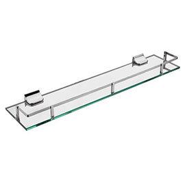 Sagittarius Madison Glass Shelf - Chrome - AC/254/C