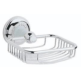 Heritage - Clifton Soap Basket - Chrome - ACC14