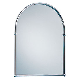 Heritage - Arched Mirror - Chrome - AHC09