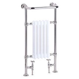 Heritage - Baby Clifton Heated Towel Rail - Chrome - AHC80