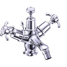 Burlington - Anglesey Bidet Mixer with Pop Up Waste - AN13