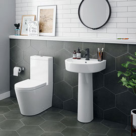 Arezzo 4-Piece Modern Bathroom Suite