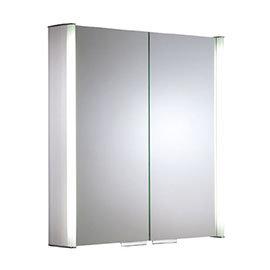Roper Rhodes Summit Illuminated Mirror Cabinet - Aluminium - AS615ALIL